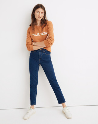 Madewell Stovepipe Jeans in Vintage Indigo Wash