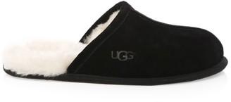 UGG Men's Scuff Fur-Lined Mule Slippers