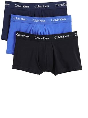 Calvin Klein Underwear Cotton Stretch Low Rise Trunks