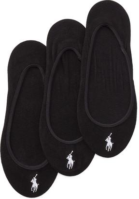 Ralph Lauren Ultralow Liner Sock 3-Pack