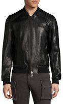 Belstaff Pershal Long Leather Jacket