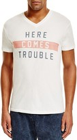 Sol Angeles Trouble V-Neck Tee