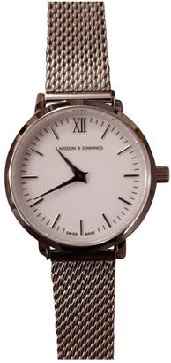 Larsson & Jennings White Steel Watches