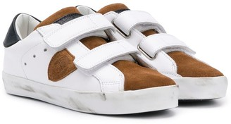Philippe Model Kids Paris touch strap sneakers
