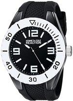 Kenneth Cole Reaction Unisex RK1342 Street Collection Analog Display Japanese Quartz Black Watch