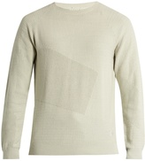 ADIDAS ORIGINALS BY WINGS + HORNS Patch cotton-blend knit sweater