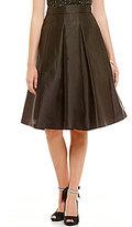 Eliza J Pleated Midi Skirt