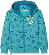 Name It Boy's Nitfenkey Swe Card W/Det. Hood Bru Mini Sweatshirt,(Manufacturer Size: /128)