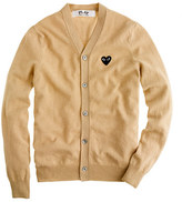 Comme des Garcons PLAY cardigan sweater