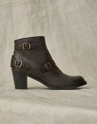 Belstaff Trialmaster Short Leather Boots