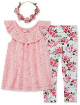 Self Esteem 2-pc. Legging Set-Toddler Girls