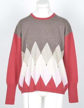 Ballantyne Women's Brown / Red Sweater