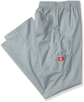 Dickies Men's Big and Eds Signature Zip Fly Pull-On Scrub Pant