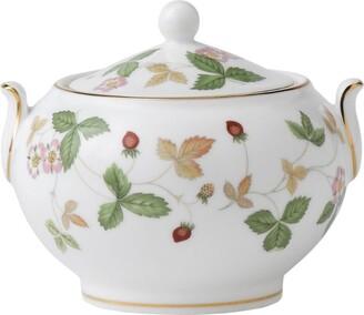 Wedgwood Wild Strawberry Sugar Bowl