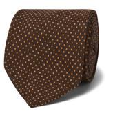 Rubinacci - 8cm Polka-dot Silk Tie