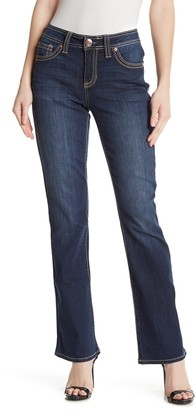Seven7 Contrast Stitch Slim Boot Jeans (Regular & Plus Size)
