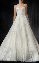 Elizabeth Kennedy Bridal Sweetheart Foliage Gown