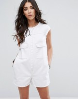 Glamorous Romper With Front Pockets