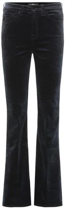 7 For All Mankind Lisha high-rise velvet pants