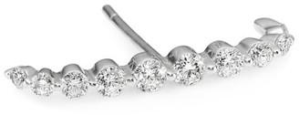 Anita Ko Single 18K Gold & Diamond Lobe Earring