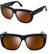 Wildfox Couture Cruiser Deluxe Mirror Sunglasses