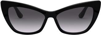 Dolce & Gabbana Print Family Cat Eye Sunglasses