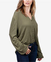 Lucky Brand Textured Poet Shirt