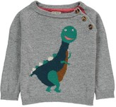 Nice Things Cashmere and Wool Dinosaur Jumper