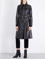 Maison Margiela Textured faux-leather coat
