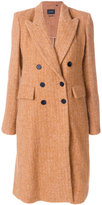 Isabel Marant Eley long coat - women - Cotton/Viscose/Alpaca/Virgin Wool - 38