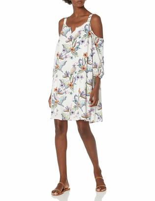 Caribbean Joe Women's Cold Shoulder Dress