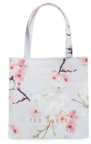 Ted Baker Cherry Blossom Small Icon Tote - Grey