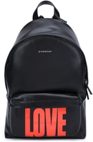 Givenchy Metallic Love Backpack
