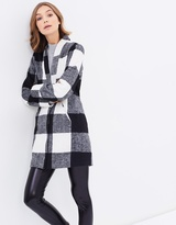 All About Eve Chromatic Check Coat