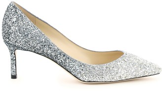 Jimmy Choo Romy Shaded Glitter Pumps 60