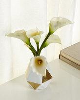 John-Richard Collection Golden Hex Faux-Floral Arrangement
