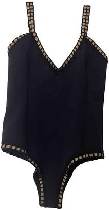 Kiini Black Polyester Swimwear