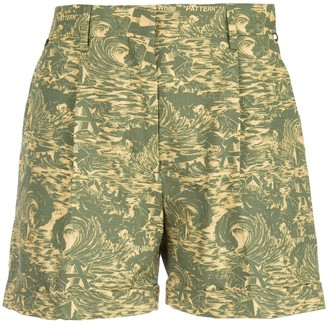 Off-White Off White abstract print shorts
