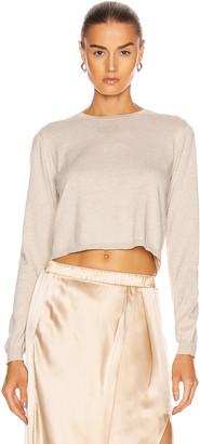 SABLYN Gabriela Long Sleeve Top in Fawn | FWRD
