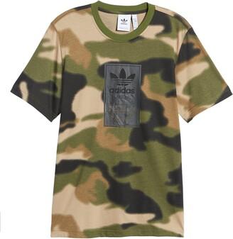 adidas Men's Camo Tongue Label T-Shirt