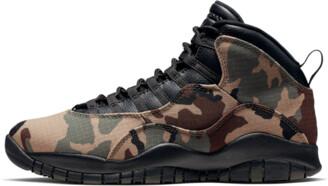 Jordan Air 10 'Woodland Camo' Shoes - Size 7.5