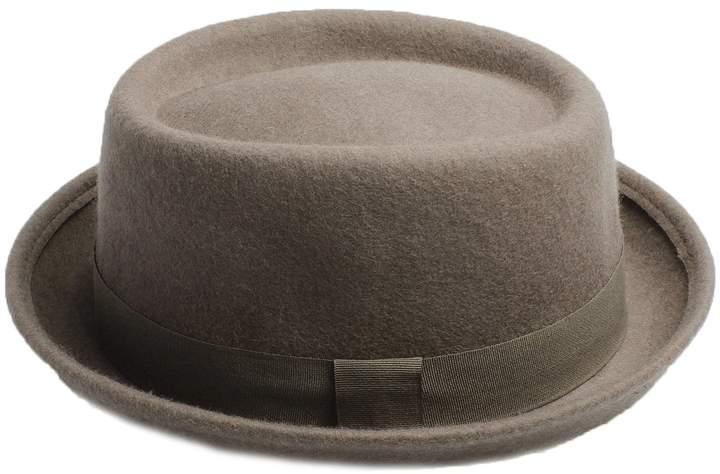 e98674cdd Accessoryo Unisex Wool Pork Pie Hat