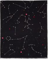 Paul Smith Black Milky Way Scarf
