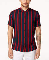 INC International Concepts I.n.c. Men's Striped Shirt, Created for Macy's