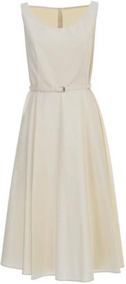 Aspesi Belted Dress W/s Flared Skirt