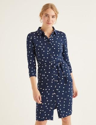Boden Tara Jersey Shirt Dress
