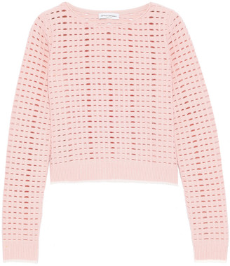 Narciso Rodriguez Open-knit Sweater