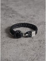 Burberry Braided Leather Bracelet
