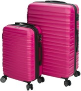 CalPak Anza II Expandable Carry-On and Spinner Suitcase Set - 2-Piece