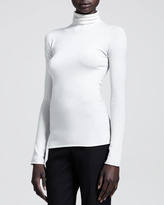 The Row Fitted Stretch Turtleneck